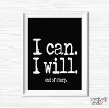 printable motivational wall decor success quotes by kreativedoctor