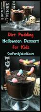 quick u0026 fun halloween dessert for kids dirt pudding recipe