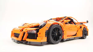 porsche lego set video when did lego cars get so cool autoweek
