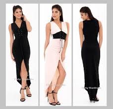 maxi dresses uk cocktail dress eyelet corset plunge v neck wrap belt maxi