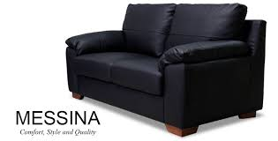 2 Seater Sofa Leather by Appealing Black Leather Sofa 2 Seater Two Seater Black Leather