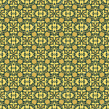 asian wrapping paper retro floral background vintage asian yellow seamless pattern