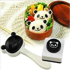 ustensiles de cuisine asiatique panda sushi moule riz algue coupeur ustensile de cuisine achat