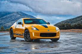 nissan 370z vs camaro nissan displays quartet of historic sports cars u2013 plus new 370z
