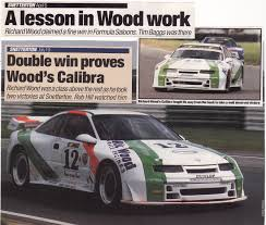 opel calibra race car formula saloons special saloon racing series