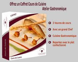 stage de cuisine gastronomique coffret cours de cuisine atelier gastronomique