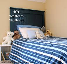 diy beadboard headboard the happier homemaker