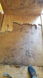 Water Damaged Kitchen Cabinets by Repairing Water Damaged Hardwood Floors Mr Floor Chicago