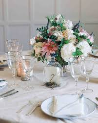 wedding table centerpiece 39 simple wedding centerpieces martha stewart weddings