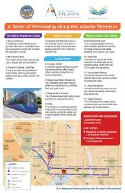 Map Of Atlanta Beltline by Atlanta Attractions And Events