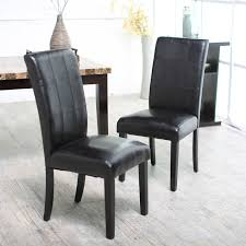 Black Dining Chairs Palazzo Dining Chairs Set Of 2 Black Hayneedle