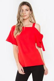 one shoulder blouse polly one shoulder blouse sugarlips