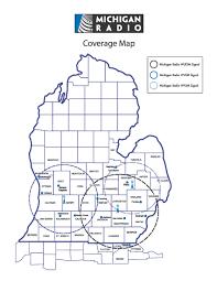 Allegan Michigan Map by Michigan Radio Tops Audience Ratings Across Michigan Michigan Radio