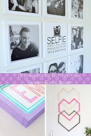 Room Ideas For Teenage Girls Diy by Teen Room Decor 15 Stylish Diy Projects For Teen Girls