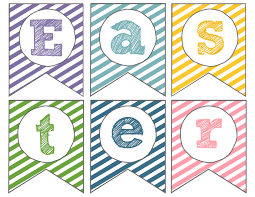easter banner free printable happy easter paper trail design