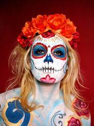 Skeleton Face Paint For Halloween by 25 Awesome Halloween Makeup Ideas For Women