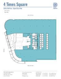 square floor plans durst 4timessquare 4thfloor open jpg