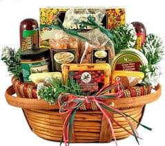 cheese basket comforts meat cheese nuts christmas