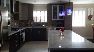 granite blue pearl kitchen contemporary with textured melamine