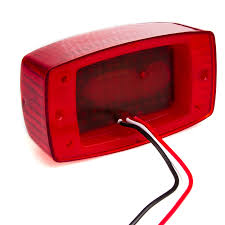 golf cart led strobe lights rectangle led golf cart and trailer tail lights 4 1 2 led brake