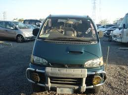 mitsubishi delica space gear d green field 4wd 1995 used for sale