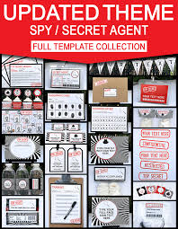 avengers party invitations printable free secret agent birthday party invitations spy party ideas
