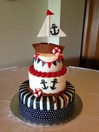 sailboat cake topper 17 bästa bilder om baby shower cakes på kakor