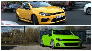 volkswagen green yellow and green eos twins have scirocco kits and r32 r36 engines