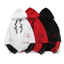 compare prices on red hoodie white zipper online shopping buy low