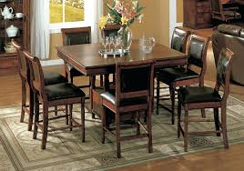 dining room tables set winsome basket pub dining table set counter height sets with leaf