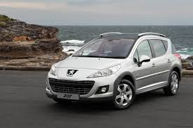 peugeot 207 new peugeot 207 touring outdoor special edition photos 1 of 5
