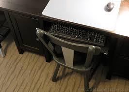 furniture ikea keyboard tray ikea secretary desk computer