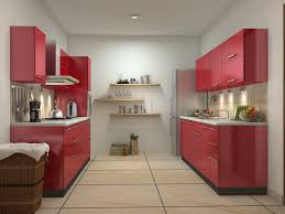 red kitchen design ideas parallel shaped modular kitchen designs get modular kitchen prices instantly online using our free online modular kitchen price calculator now get complimentary interior designing services on