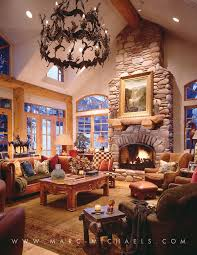 Lodge Living Room Decor by 15 Best Rustic Lodge Residences Images On Pinterest Interior