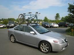 honda accord coupe bike rack tsx roof rack acurazine acura enthusiast community