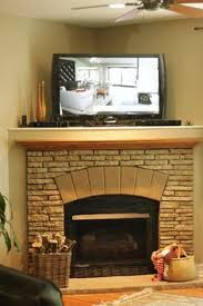 Corner Gas Fireplace With Tv Above by Gas Fireplace With Tv Above Recessed Tv Over Gas Fireplace