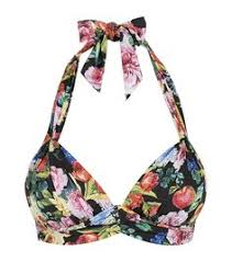 Seafolly Summer Garden - seafolly kabuki bloom sweetheart bañador raspberry sol i