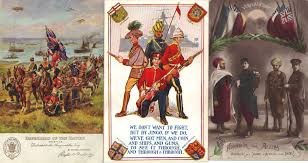 British Flag Ww1 India Wwi U2013 Patriotic Postcards Of Sikhs Of British Empire Three