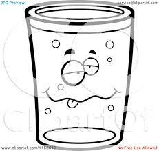 cartoon beer pint beer coloring pages
