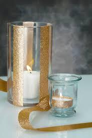 Cheap Tea Light Candles Gold Glitter Ribbon Super Simple Gold Glitter And Teas