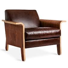 Chestnut Leather Sofa Gus Modern Lodge Chestnut Brown Leather Chair Eurway