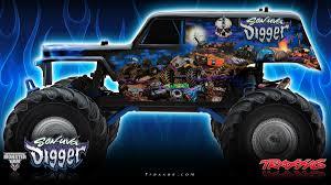 traxxas grave digger rc monster truck traxxas son uva digger r c monster truck rcnewz com