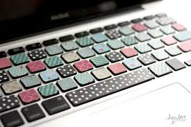 washi tape designs get crafty diy washi tape keyboard hey love designs