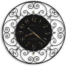 black wrought iron table clock howard miller joline wrought iron clock black iron 625 367 lsusa