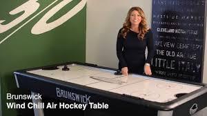 Arctic Wind Air Hockey Table by Danny Vegh U0027s Brunswick Air Hockey Youtube