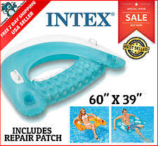 Intex Floating Recliner Lounge Intex Lounger Floats U0026 Rafts Ebay