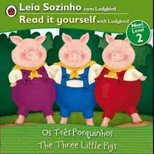 pigs bilingual portuguese english fairy tales