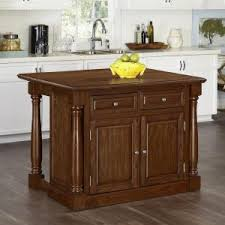 kitchen islands at home depot home styles americana distressed cottage oak kitchen island with