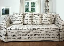 sofa slipcovers ebay text embroidered words chenille warm throw blanket bedspread sofa