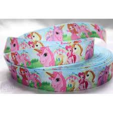 grosgrain ribbon unicorn printed grosgrain ribbon crafts 1m